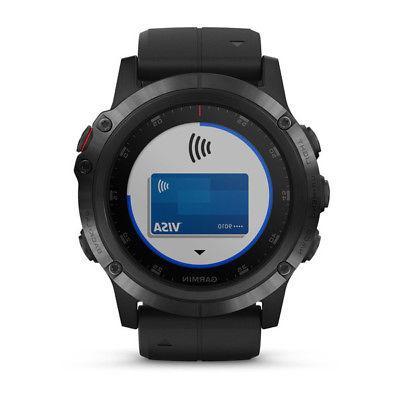 NEW Garmin Fenix Plus GPS watch Sapphire HEART Monitor TOPO