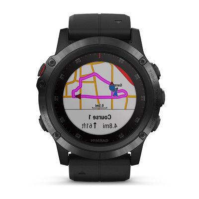 NEW 5x Plus GPS HEART RATE TOPO maps