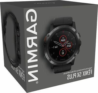 new fenix 5x plus gps watch sapphire