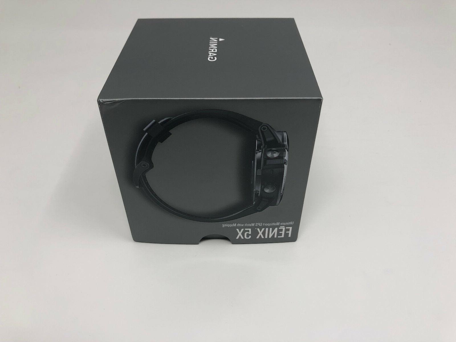 NEW Garmin SAPPHIRE GPS Running Watch