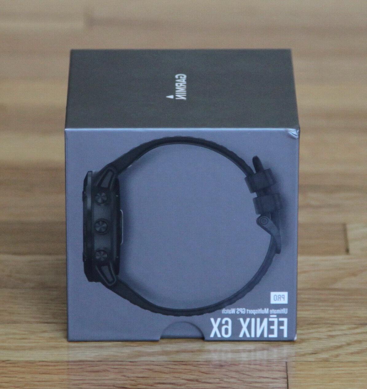 NEW Garmin 6X Pro MultiSport Watch