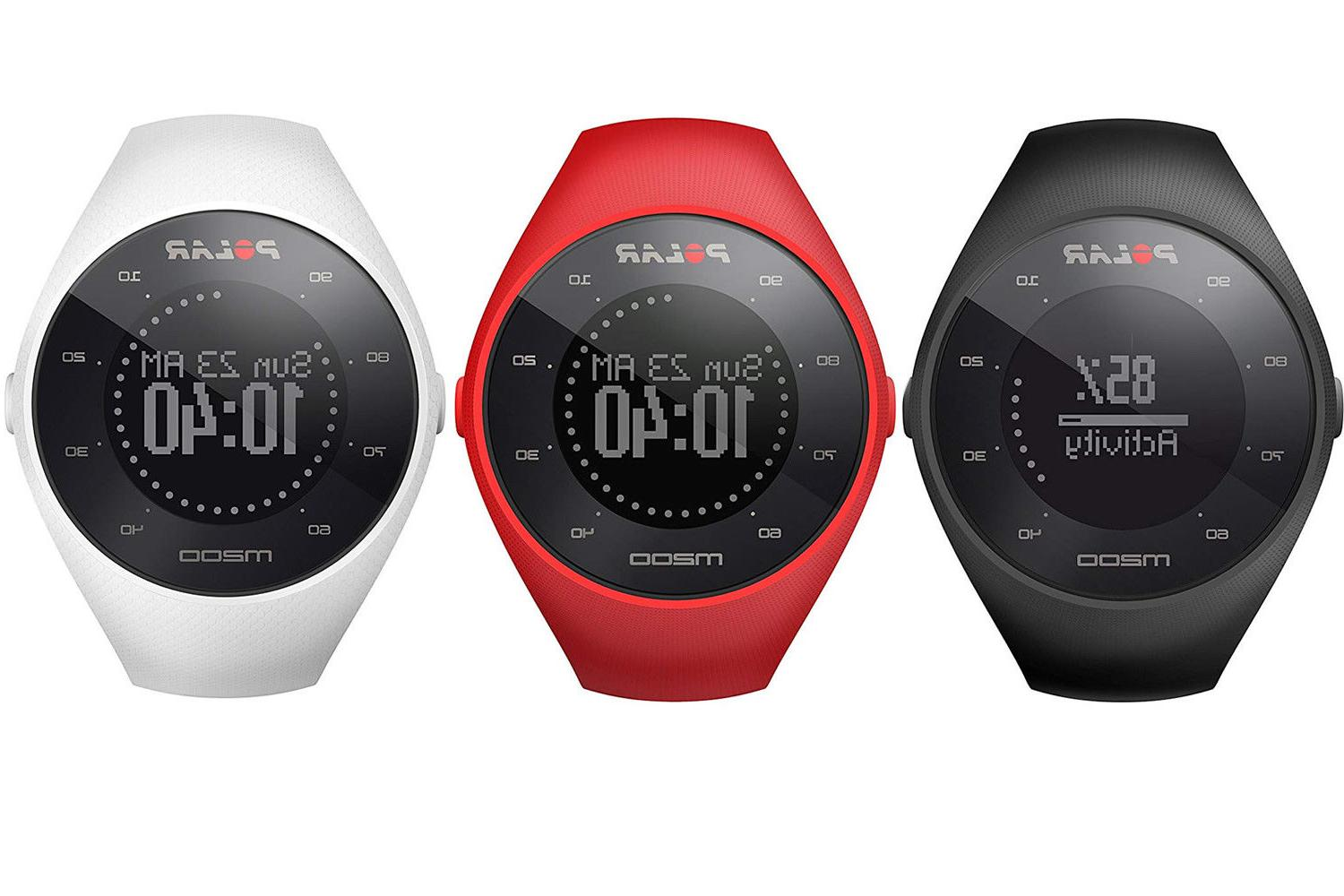 new m200 gps running watch with heart