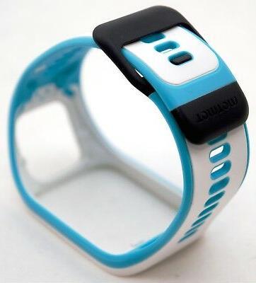 NEW OEM Slim Watch Strap Blue White 3/Runner 2 Band