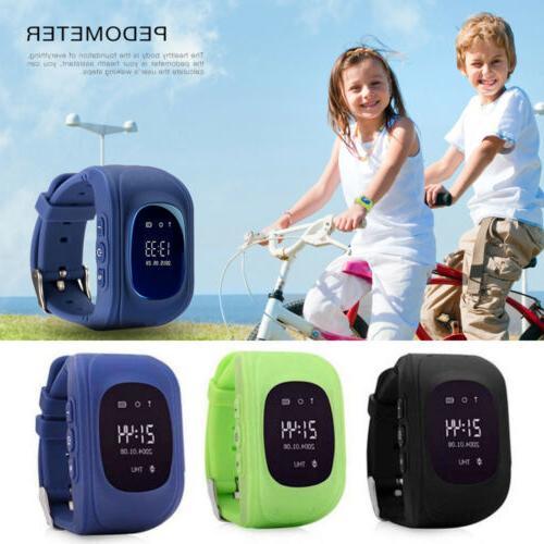 Kids Q50 GPS Smart Wristwatch Anti-Lost Watch Telephone SOS