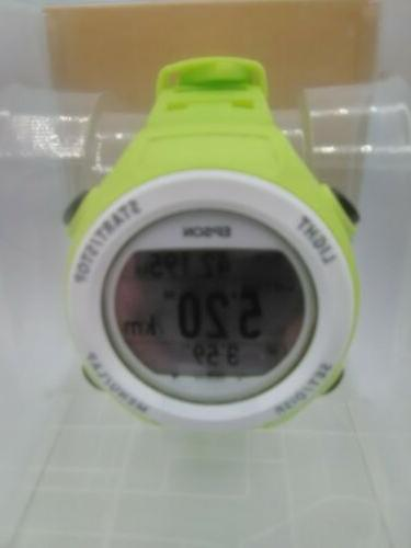 New SF-110 run watch GPS and blue
