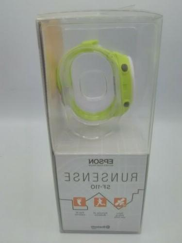 New Run SF-110 watch with GPS activity blue