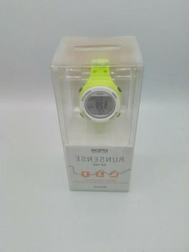New SF-110 watch with GPS activity blue