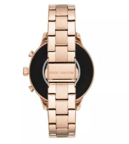 NEW Smart Watch Gold Pave Touchscreen