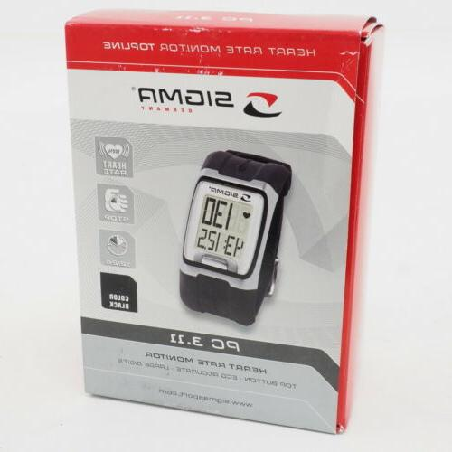 new sigma pc 3 11 heart rate