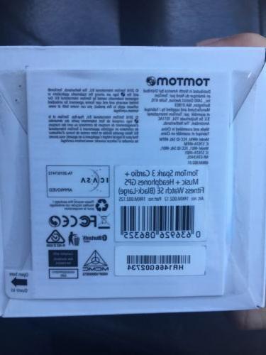 New TOMTOM Spark 3 Special GPS Watch Headphones