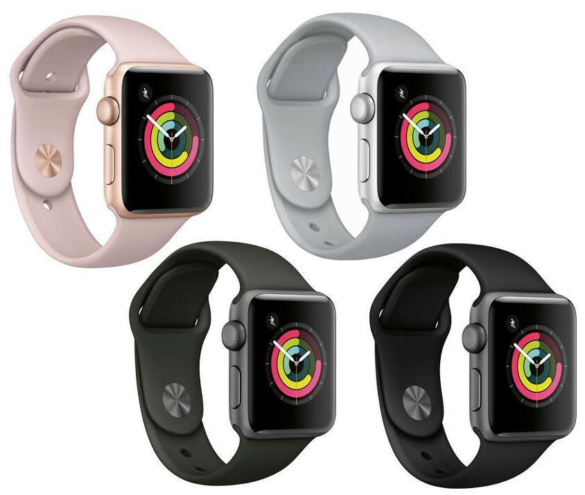 new watch series 3 42mm smartwatch gps