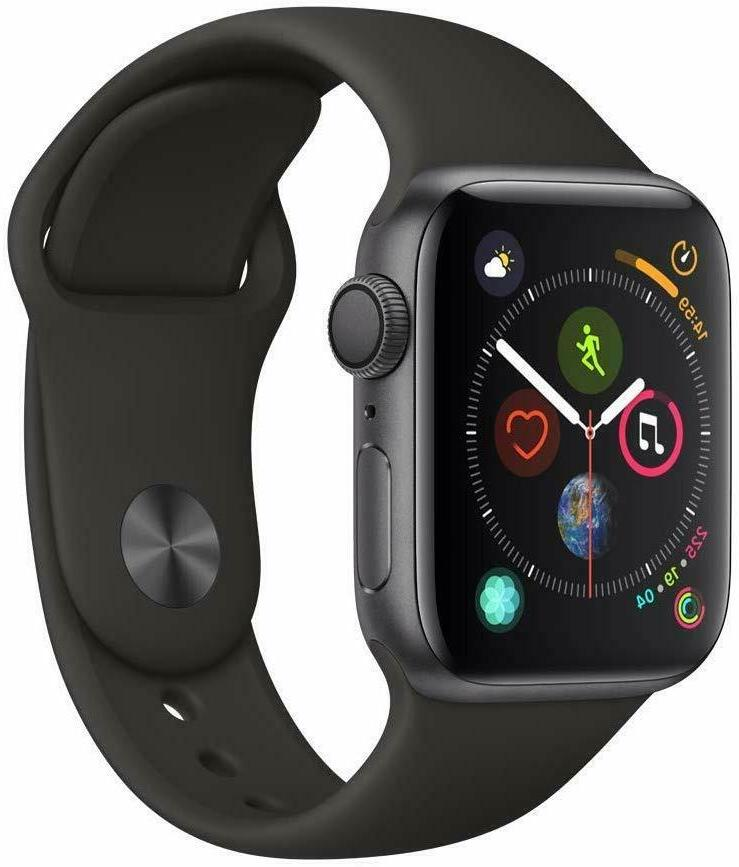 NEW Watch Series 4 Included w/ Black or White Sport