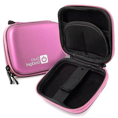 pink hard eva shell case