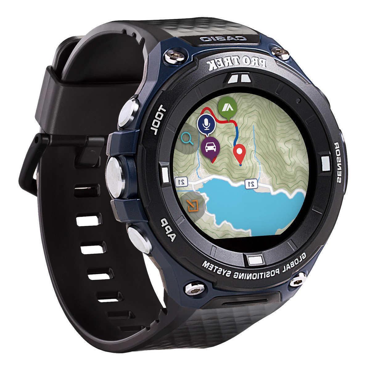 Casio Men's Pro Trek Outdoor GPS Resin Sports Watch WSD-F20A
