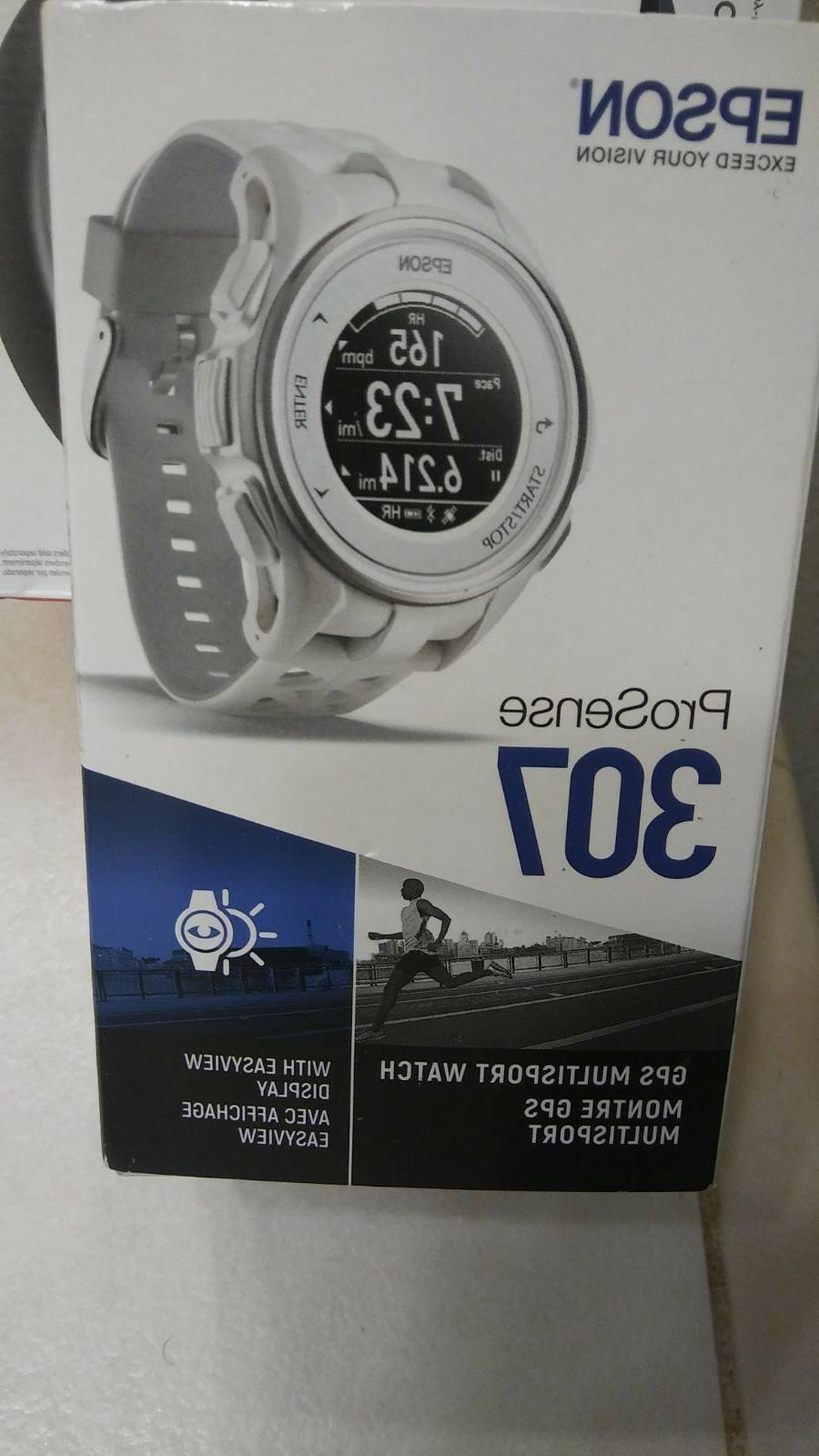 prosense 307 gps multisport watch w easyview