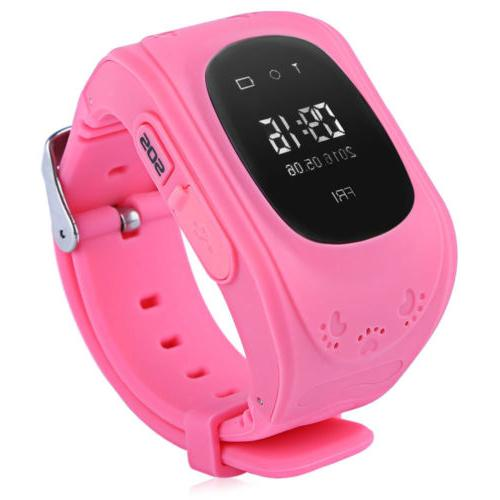 Q50 Waterproof LCD Display GPS Intelligent Watch Telephone P