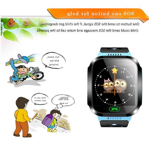 Q528 Smart GPS Tracker Wrist Android Phone Kids Safe