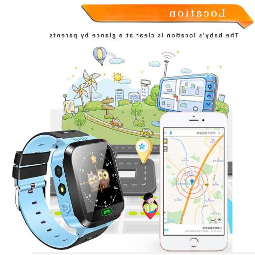 Q528 Watch Anti-lost GPS Tracker Wrist For Android Phone Kids Safe