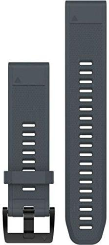 Garmin QuickFit 22 Watch Band Granite Blue Silicone, One Siz