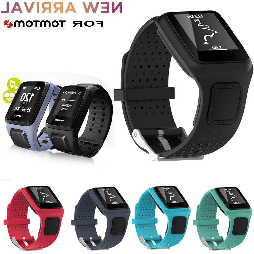 Replacement Silicagel Soft Band Strap For TomTom Multi Sport