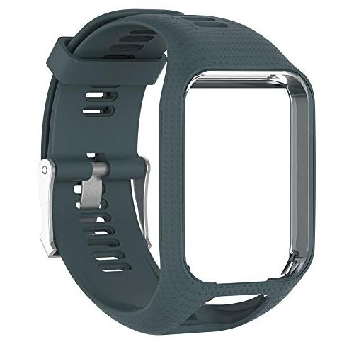 replacement silicone strap watch