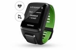 TomTom Runner 3 GPS Music Cardio Watch  - SS17 - One - Black