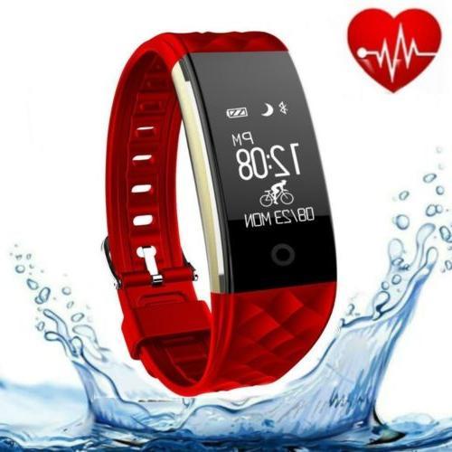 S2 Smart Watch Fitness Tracker GPS Rate Sleep Bracelet