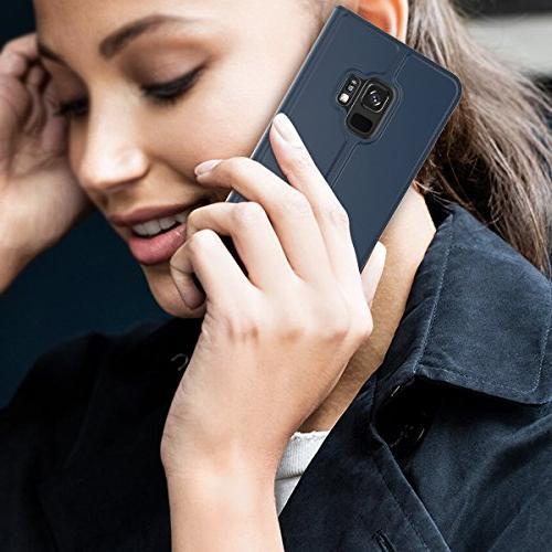 Codream Samsung Galaxy Plus Case, Samsung S9 Plus Flip Cover Hear Excellent Samsung Galaxy by