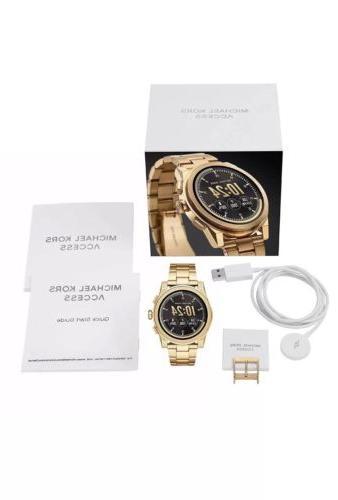 SEALED GRAYSON Gold Access Touchscreen Smartwatch MKT5026