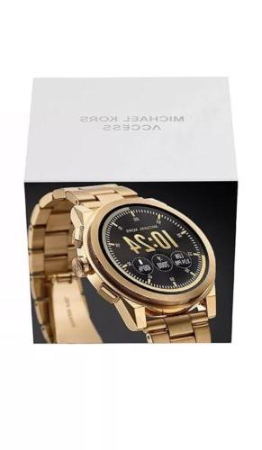 SEALED MICHAEL Gold Smartwatch
