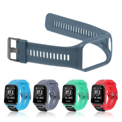 Soft Silicone Wrist Band Strap For TomTom0 Runner 2&3/Golfer