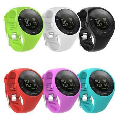 Silicone Watch Band Wristband Bracelet Replacement For Polar