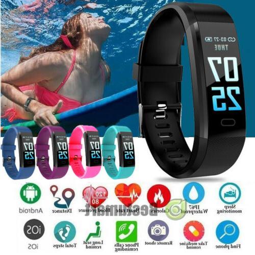 Fitness Smart Watch Activity Tracker WomenMen Kids Fitbit An