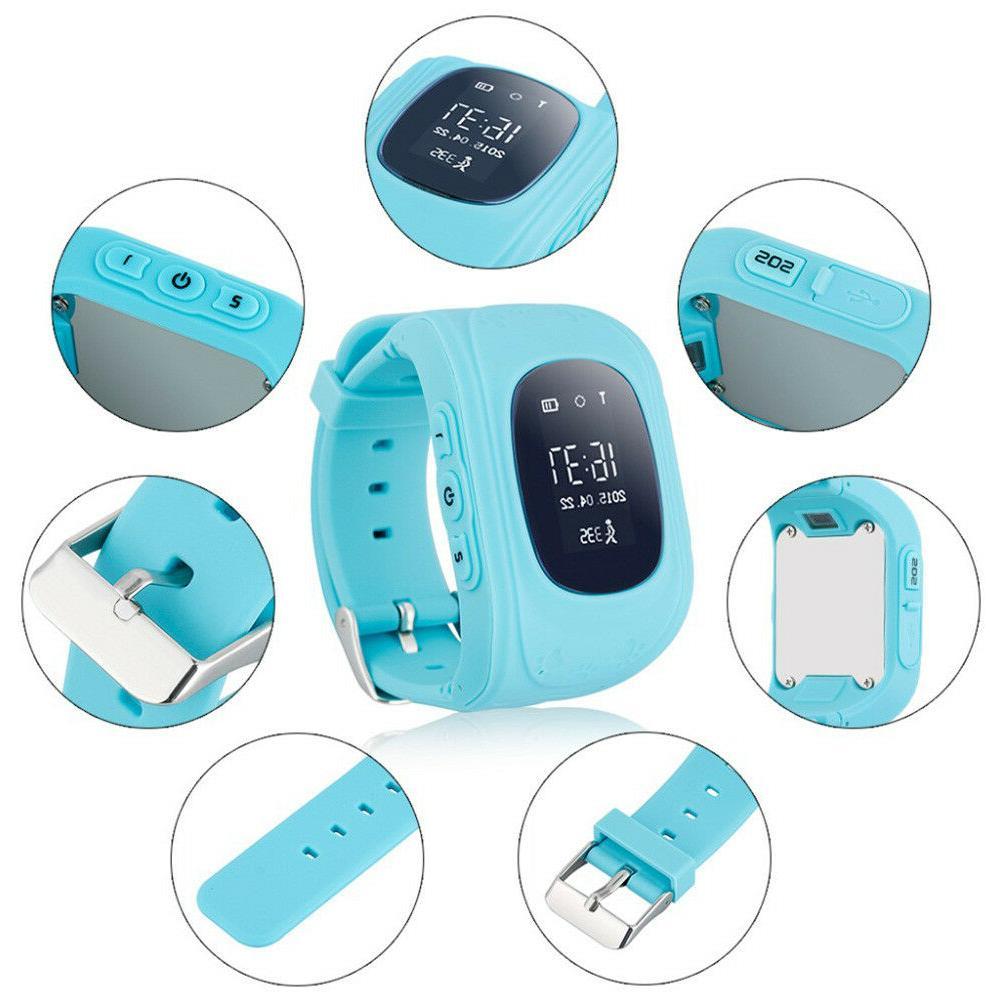 Smart Phone Watch Wristwatch Children Waterproof for iOS
