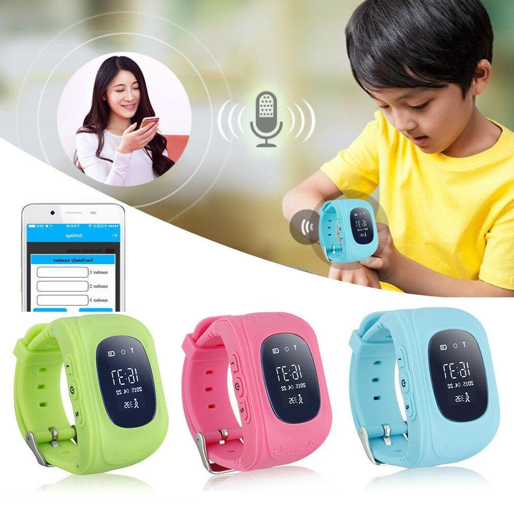 smart phone watch kid wristwatch children gps