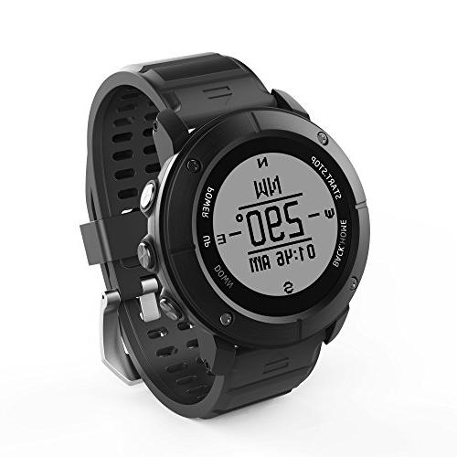 UWear Smart running IP68 treadmill Watch PositioningThe Rate,Compass,Pedometer IOS Iphone,Android