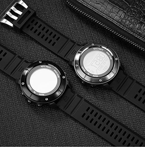 UWear Smart Watch,Outdoor running waterproof treadmill PositioningThe Rate,Compass,Pedometer IOS