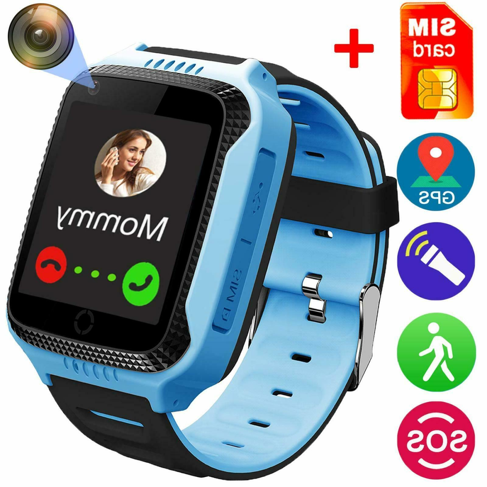 Smart Watch for Girls Boys - GPS Locator Pedometer Fitness T