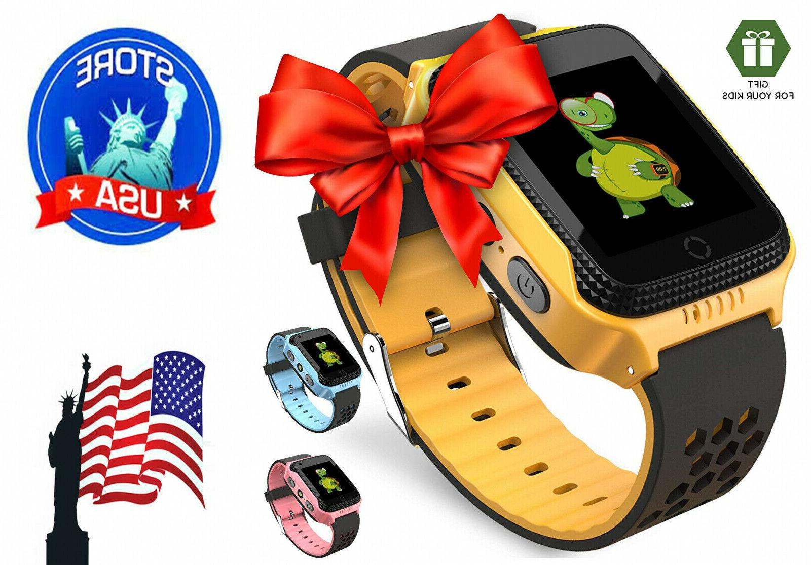 Smart Watch for Kids- GPS  Fitness Tracker with multi functi