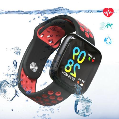 Smart Watch Tracker Monitor Weather