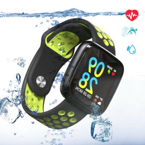 smart watch gps fitness tracker waterproof heart