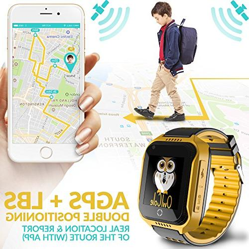 Smart Watch GPS Tracker Phone Watch Touchscreen iPhone Children Girls