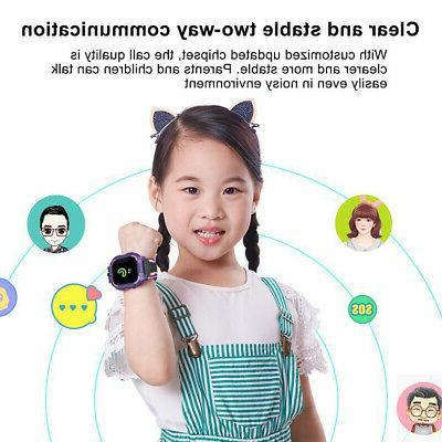 Smart LBS Locator SOS Kids Children