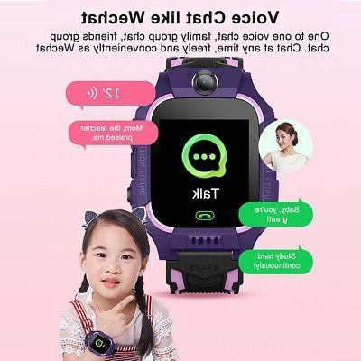 Smart Watch Locator Touch Tracker SOS Phone for Children GPS