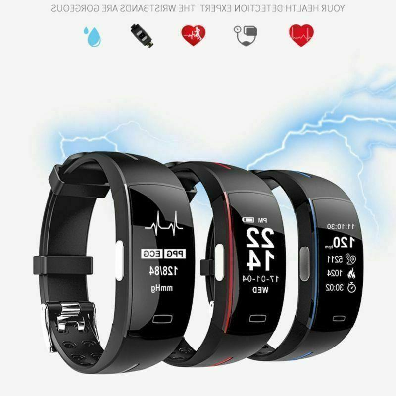Smart Watch P3 ECG+PPG Blood Pressure Rate Monitor