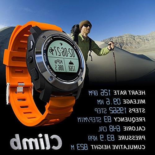 Rookee Watch - Built-in Outdoor Sports, 5 stats