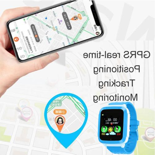 Smart GPS GSM Locator Tracker Call Anti-lost Kids Children Gift