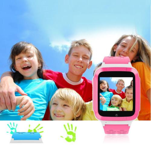 Smart Watch GSM Locator Call Anti-lost Children