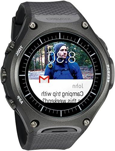 Casio - Smart Outdoor Watch Wsd-f10 Smartwatch Black