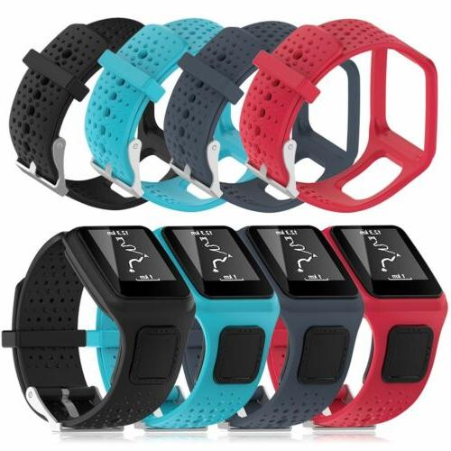 Replacement Silicone Wrist Band Strap ForTomTom Runner 2 3 S